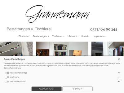 Grannemann H. Tischlerei und Bestattu