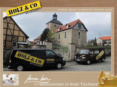 HOLZ & CO, Lars Hülsen, Tischlermeister