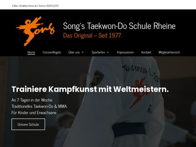 Song's Taekwon-Do Schule Rheine
