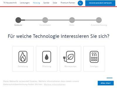 TK Haustechnik Sanitär-Heizung-Lüftung