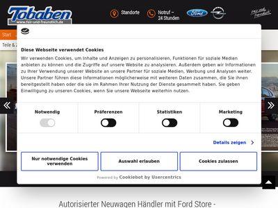 Autohaus Tobaben | Ford Hamburg Harburg