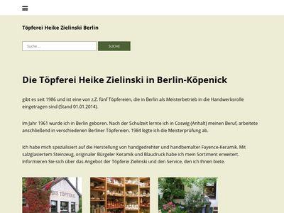 Töpferei Heike Zielinski Berlin