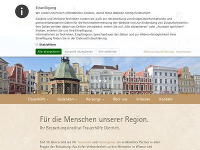 Bestattungsinstitut Trauerhilfe Dietrich