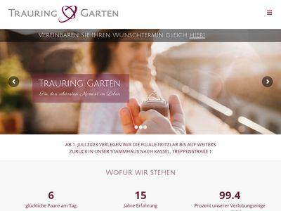 Trauring Garten Göttingen