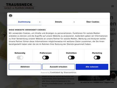 Traussneck Gold- + Platinschmiede