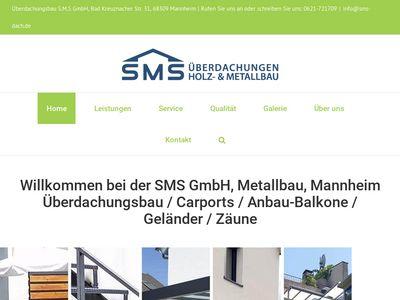 Überdachungsbau SMS GmbH