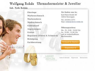 Wolfgang Rohde