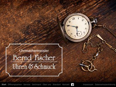 Bernd Fischer, Uhren und Schmuck