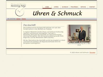 Uhren und Schmuck Henning Pätz