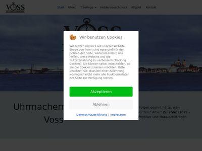 Uhrmachermeister Voss