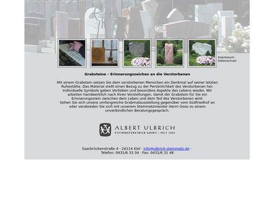 Albert Ulbrich GmbH Grabdenkmale