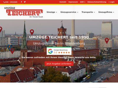 TEICHERT Umzüge Berlin
