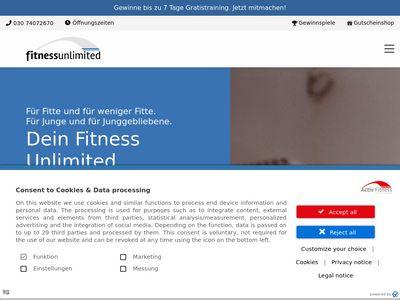 Fitness unlimited XS GmbH Schöneberg