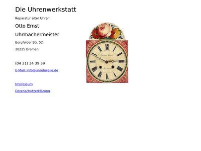 Ernst Otto Uhrmachermeister