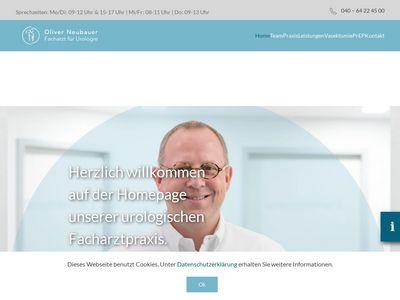 Facharzt für Urologie Oliver Neubauer