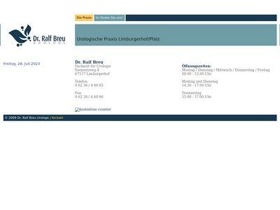 Breu Ralf Dr.med. Arzt für Urologie