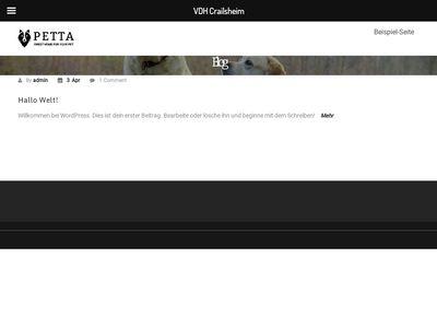 Verein der Hundefreunde Crailsheim