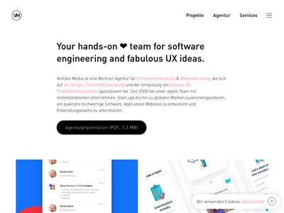 Ventzke & Partner Webdesign