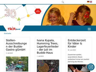EU-Projekte von FAIRbund e.V. in Leipzig