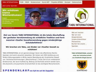 DU & TABU mit Kunst gegen FGM