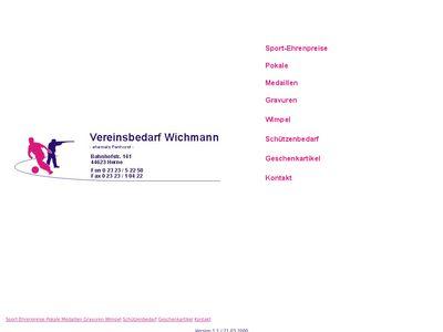 Vereinsbedarf Wichmann
