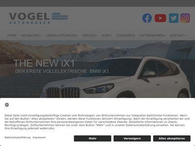 Auto BMW Vogel