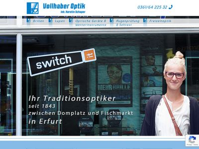Vollhaber Optik Inhaber Kerstin Schaper e.K.