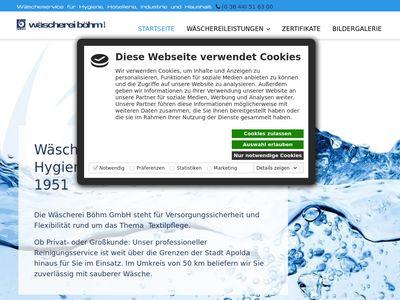Wäscherei Böhm GmbH