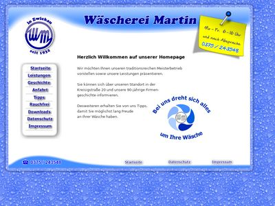 Wäscherei Jürg Martin