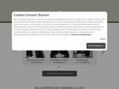 Rechtsanwälte u. Notar Wanner & Lach
