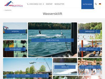 Wasserskilift Zachun