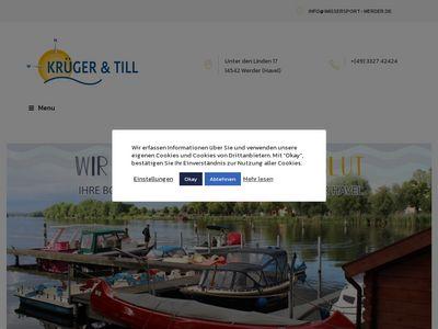 Wassersportgeschäft Krüger & Till
