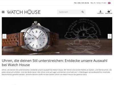 Watchhouse.de Uhren Onlineshop