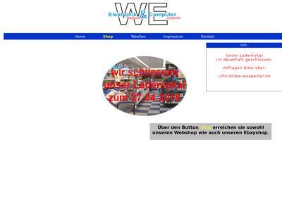WE Elektronik Vertriebs