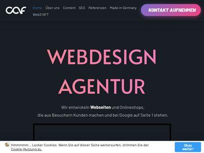 Webdesign Agentur chris and friends GmbH