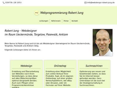 Webdesign Robert Jung