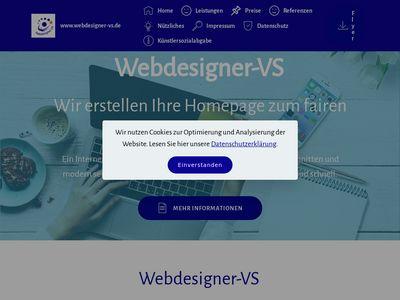 Webdesigner-VS