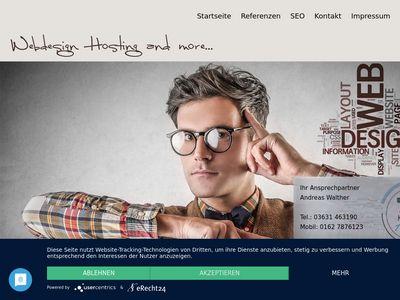 Webdesign-Agentur Walter