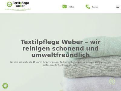 Textilpflege Weber