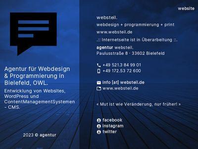 Websteil