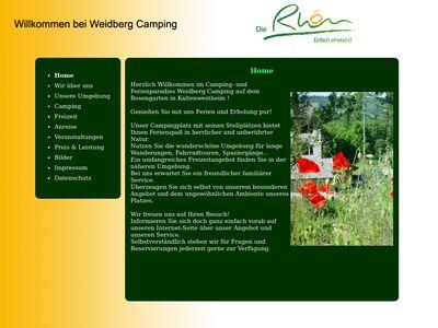 Weidberg Camping