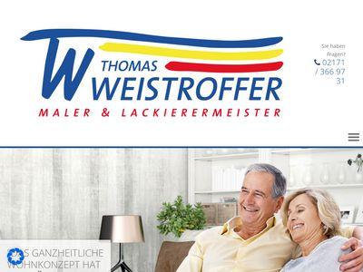Thomas Weistroffer Malerbetrieb