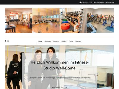 Fitness-Studio Well-Come