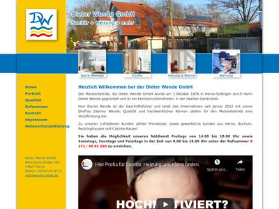Dieter Wende GmbH Heizung - Sanitär