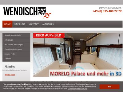 Wohnmobile Wendisch-PS, Infos und Termine