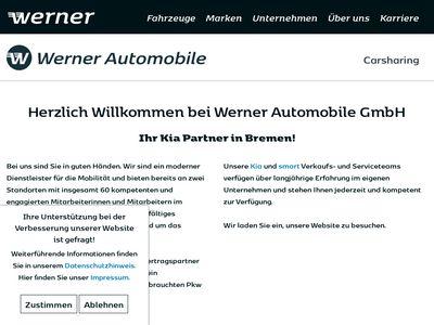 Werner Automobile - Kia Zentrum
