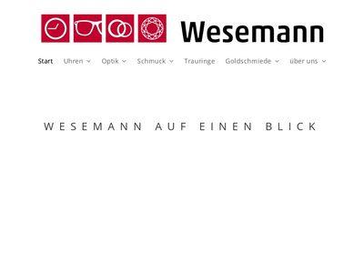 Wesemann GmbH Optik Uhren und Schmuck