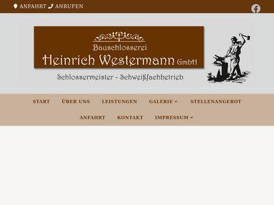 Westermann Heinrich Bauschlosserei GmbH