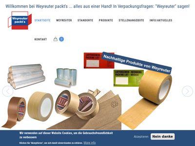 Weyreuter packt`s GmbH
