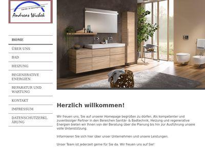 Andreas Wichek Sanitär- und Heizungstechnik